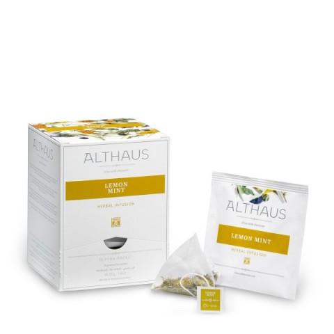 Althaus Lemon Mint Răcorirea Infuziei De Plante 15 x 2,75 g
