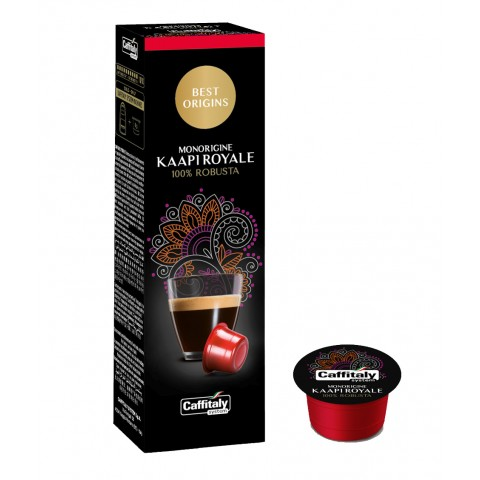 Best Origins Monorigine Kaapi Royale Caffitaly 8g