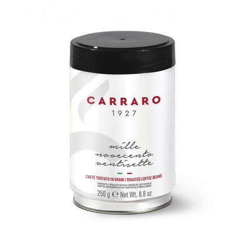 Carraro 1927 Arabica Boabe Borcan 250 g