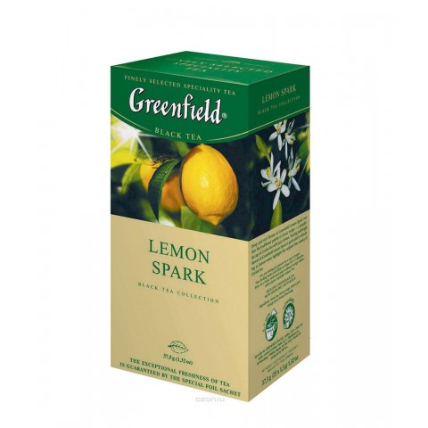 Greenfield Lemon Spark 25*1.5 g