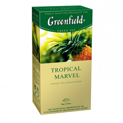 Greenfield Tropical Marvel 25*2g