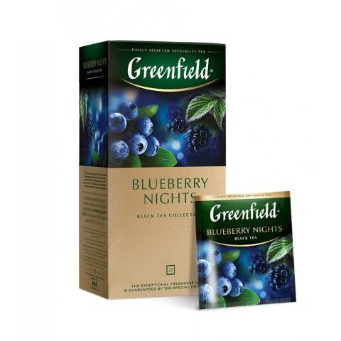 Greenfield Blueberry Nights Nopți de Vară 25 x 1,5 g