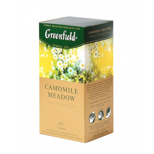 Greenfield Camomile Meadow 25*1.5 g