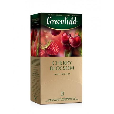 Greenfield Cherry Blossom Hibiscus, Măr și Măceș 25 x 1,5 g