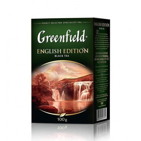 Greenfield English Edition Negru Rafinat 100 g
