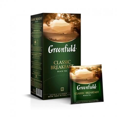 Greenfield Classic Breakfast Dimineață Productivă 25 x 2 g