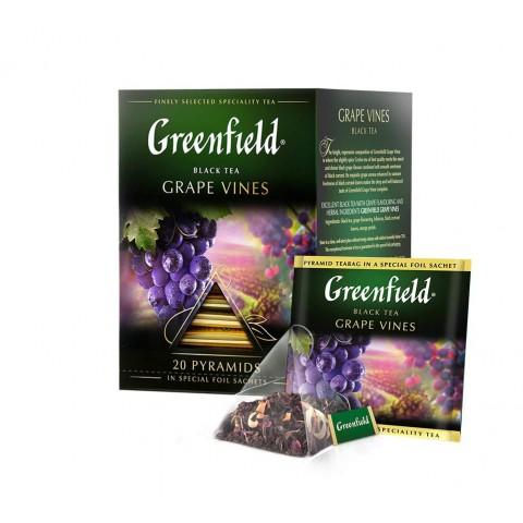 Greenfield Grape Vines Gust Profund și Armonios 20 x 2 g