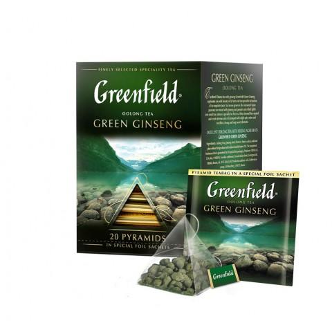 Greenfield Green Ginseng Oolong și Elixirul Sănătății 20 x 2 g