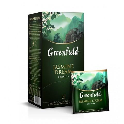 Greenfield Jasmine Dream Aromă Naturală de Iasomie 25 x 2 g