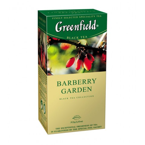 Greenfield Barberry Garden 25*1.5 g