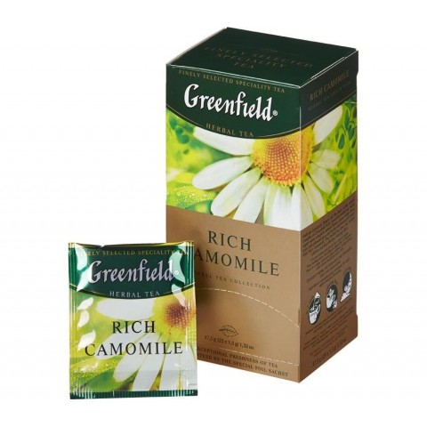 Greenfield Rich Camomile 25*1.5 g