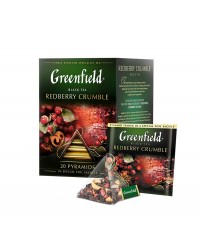 Greenfield Redberry Crumble Freshly Baked Fruit Tart 20 x 2 g