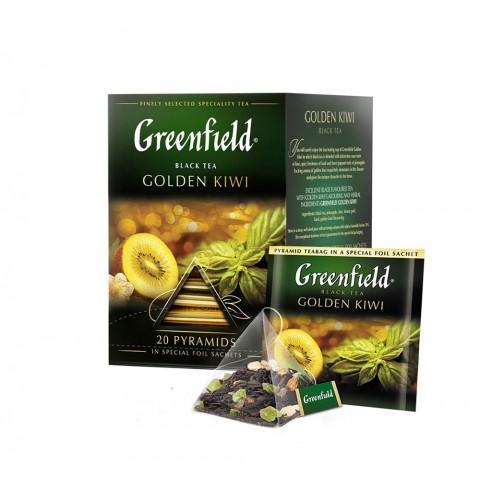 Greenfield Golden Kiwi Mix de Gusturi Originale 20 x 2 g