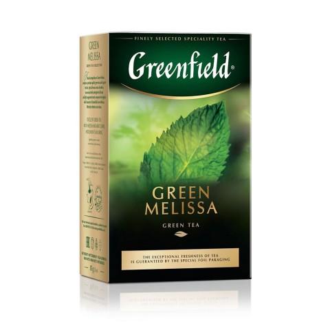 Greenfield Green Melissa Ceai Verde cu Plante Calmante 85 g