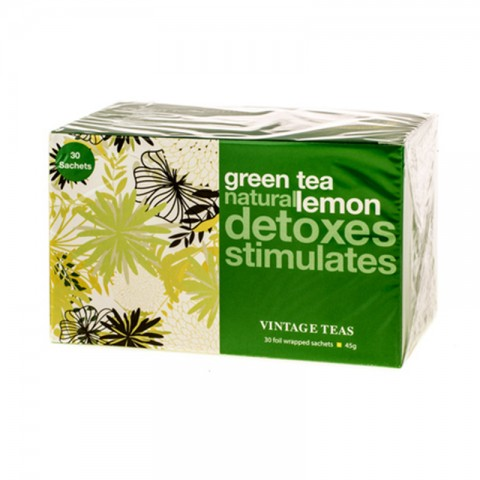 Vintage  Green Tea  Lemon 30*1.5g