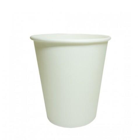 Pahar Carton 250 ml Alb Cappuccino (SET 50 buc)