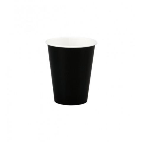 Pahar Carton 100 ml Negru (Set 50 buc)