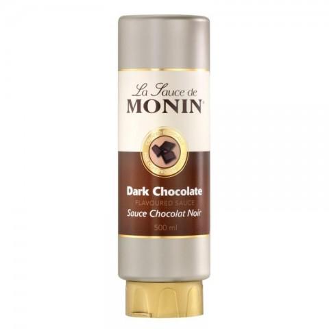 Monin Sauce Topping Dark Chocolate 500ml