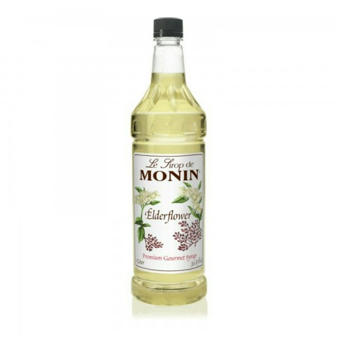 Monin Sirop Elderflower Socată (Suc De Soc) 1000 ml PET
