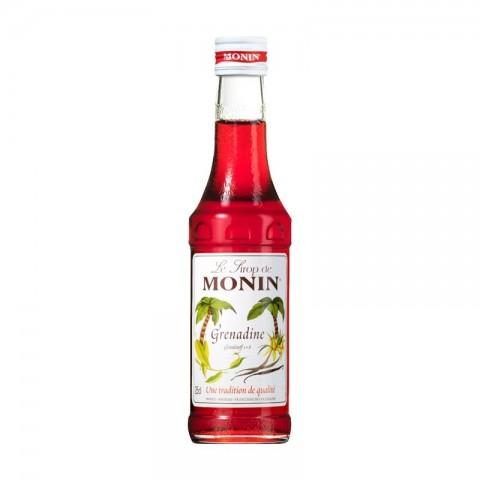 Monin Sirop Grenadine Grenadină Rodie 250 ml