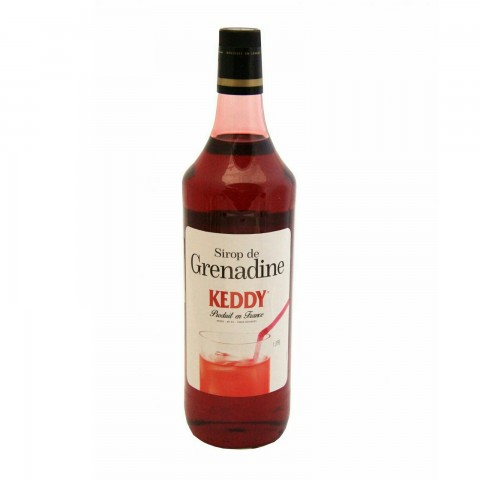 Keddy Sirop Grenadine Grenadină Rodie 1000 ml
