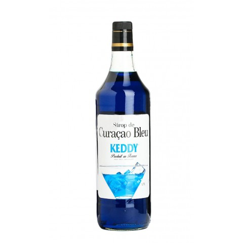 Keddy Sirop Blue Curacao Curacao Albastru 1000 ml