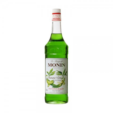Monin Sirop Green Banana Banană Verde 1000 ml