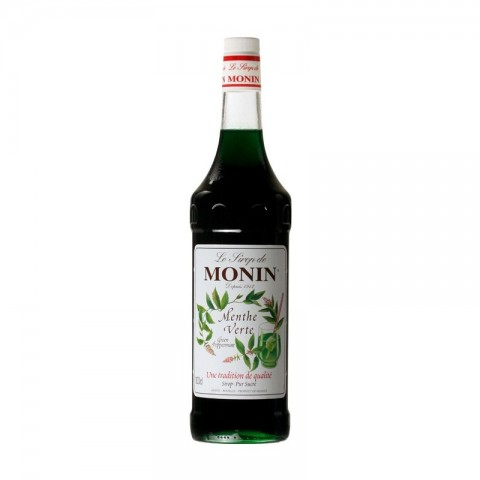 Monin Sirop Green Mint Mentă Verde 1000 ml