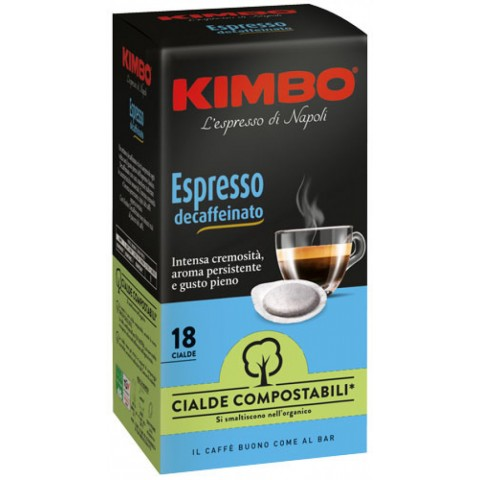 Kimbo Decaffeinato 7g (cialde ESE 44 mm)